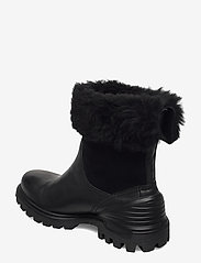 ECCO - TREDTRAY W - flat ankle boots - black/black - 2