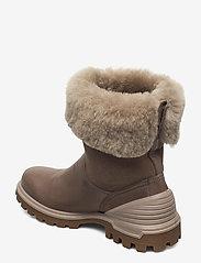 ECCO - TREDTRAY W - flat ankle boots - dark clay/moon rock - 2