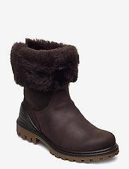 ECCO - TREDTRAY W - flat ankle boots - mocha/coffee - 0