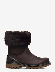 ECCO - TREDTRAY W - flat ankle boots - mocha/coffee - 1