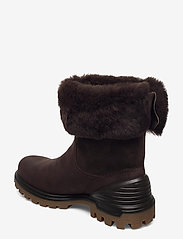 ECCO - TREDTRAY W - flat ankle boots - mocha/coffee - 2