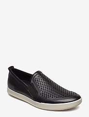 ECCO - COLLIN 2.0 - baskets slip-ons - black - 0