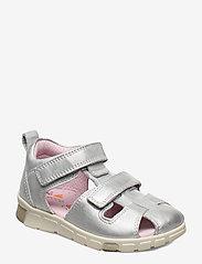 ECCO - MINI STRIDE SANDAL - sandals - silver metallic - 0