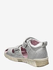 ECCO - MINI STRIDE SANDAL - sandals - silver metallic - 2