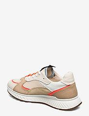 ECCO - ST.1 W - sneakers med lav ankel - vanilla/coral neon/vanilla/beige - 2