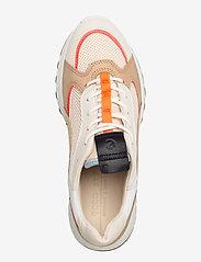 ECCO - ST.1 W - sneakers med lav ankel - vanilla/coral neon/vanilla/beige - 3