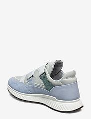 ECCO - ST.1 W - slip-on sneakers - dusty blue/dusty blue/concrete/lake - 2