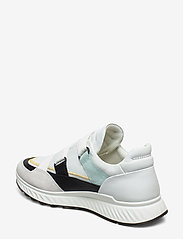 ECCO - ST.1 W - slip-on sneakers - shadow white/black/white/eggshell blue - 2