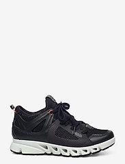 ECCO - MULTI-VENT W - lage sneakers - black/black/coral neon - 1
