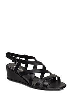 W Flat Sandal Ii (Black) (82.49 €) ECCO  