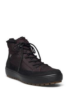 SOFT 7 TRED M - vinterstøvler - black/mocha