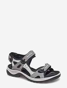OFFROAD - platta sandaler - titanium
