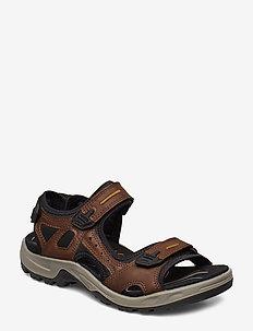OFFROAD - sandals - espresso/cocoa brown/black