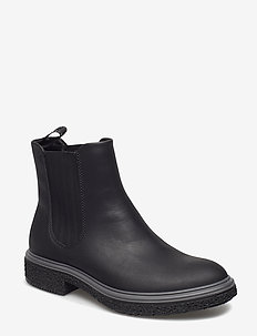 CREPETRAY HYBRID W - chelsea boots - black