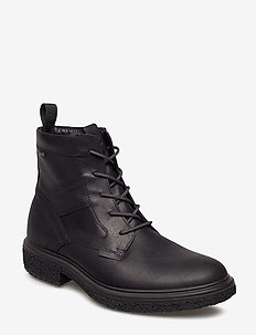 CREPETRAY HYBRID M - laced boots - black