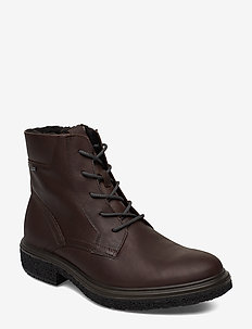 CREPETRAY HYBRID M - laced boots - coffee