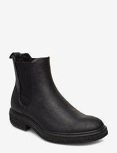 CREPETRAY HYBRID M - chelsea boots - black