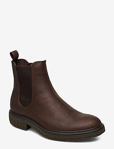 CREPETRAY HYBRID M - chelsea boots - coffee