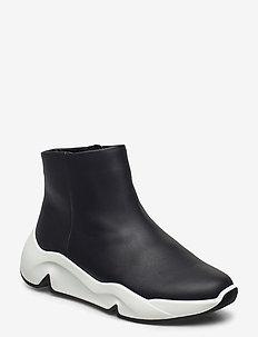 CHUNKY SNEAKER W - high top sneakers - black