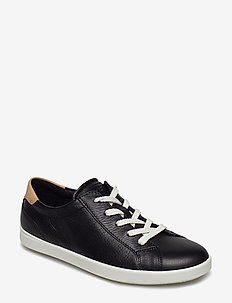 LEISURE - lave sneakers - black/powder