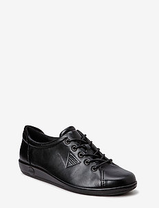 SOFT 2.0 - lave sneakers - black with black sole