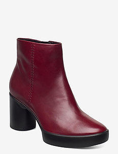 SHAPE SCULPTED MOTION 55 - heeled ankle boots - syrah