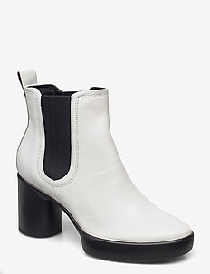 SHAPE SCULPTED MOTION 55 - heeled ankle boots - bright white