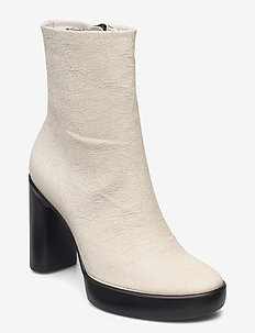 SHAPE SCULPTED MOTION 75 - heeled ankle boots - shadow white