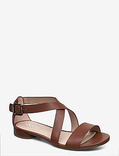W FLAT SANDAL II - flat sandals - cinnamon
