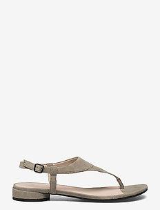 W FLAT SANDAL II - płaskie sandały - vetiver