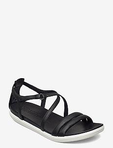 SIMPIL SANDAL - flache sandalen - black