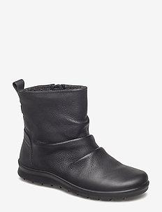 BABETT BOOT - flat ankle boots - black