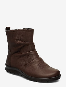 BABETT BOOT - flat ankle boots - coffee