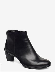 SCULPTURED 45 - heeled ankle boots - black