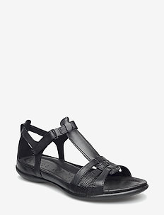 FLASH - flade sandaler - black/black