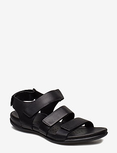 FLASH - flat sandals - black