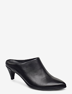 SHAPE 45 POINTY SLEEK - mules - black