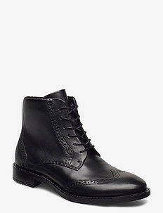 SARTORELLE 25 TAILORED - heeled ankle boots - black
