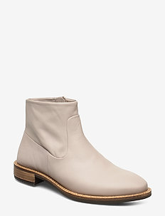 SARTORELLE 25 TAILORED - flat ankle boots - grey rose