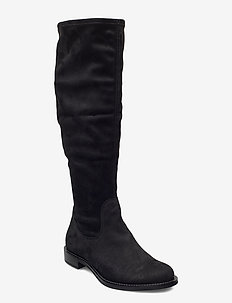 SARTORELLE 25 - lange laarzen - black/black