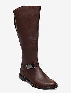 SARTORELLE 25 - lange laarzen - cocoa brown