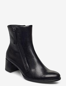 SHAPE 35 BLOCK - heeled ankle boots - black