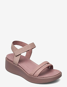 FLOWT WEDGE LX W - flade sandaler - wood rose/wood rose