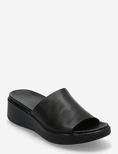 FLOWT WEDGE LX W - flat sandals - black