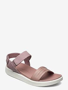 FLOWT W - flat sandals - woodrose/woodrose