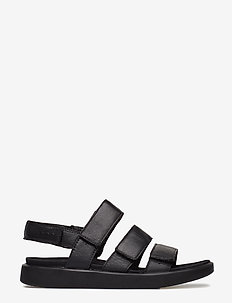 FLOWT W - płaskie sandały - black