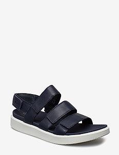 FLOWT W - flat sandals - marine