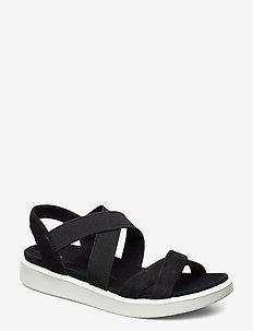 FLOWT W - flat sandals - black