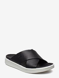 FLOWT LX W - platte sandalen - black