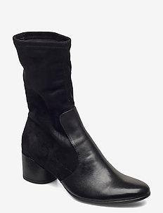 SHAPE 35 MOD BLOCK - long boots - black/black